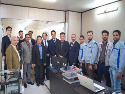 بازدید مدیران شرکت تایوانی