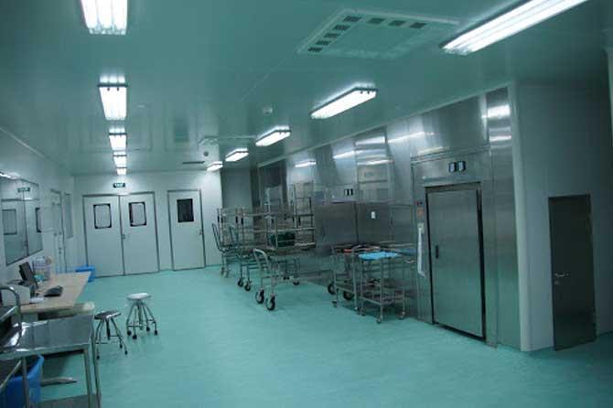 اتاق تمیز بیمارستان یا کلین روم