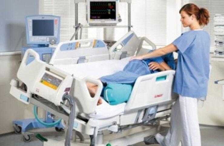 سقوط بیمار از تخت